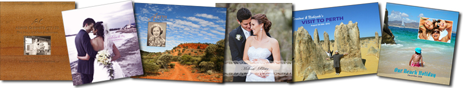 Photo book banner